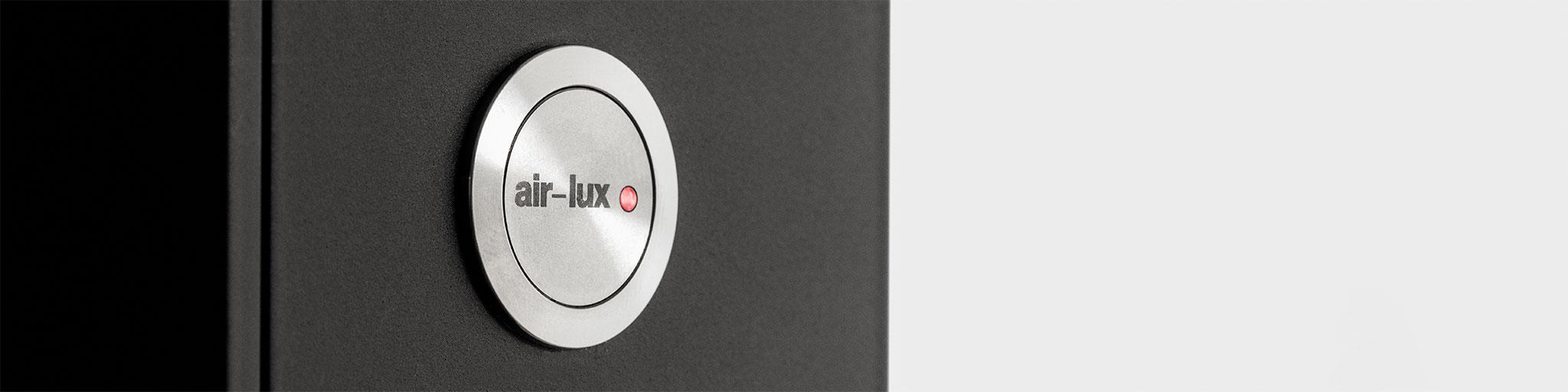 der air-lux-Knopf